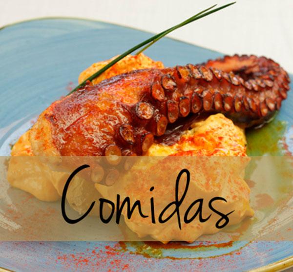 Menú de comidas para llevar en Segovia
